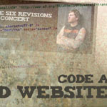 Coding a Band Website Created in Photoshop