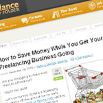 How to Save Money While You Get Your Freelancing Business Going