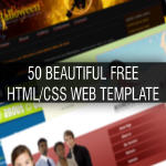 50 Beautiful Free HTML/CSS Web Template