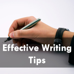 10 Must Follow Tips for Effective Writing