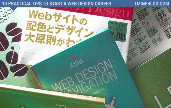 10 Practical Tips to Start a Web Design Career