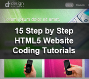 HTML5 Website Coding Tutorials