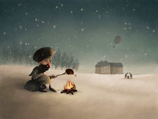 Amazing & Interesting Children Illustrations By Alex Dukal