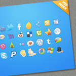 25 New Free High Res Icon Sets