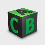 Create a Cube with Embossed Letters on Each Side