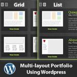 Create a Multi-Layout Portfolio with WordPress