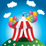 How to Create a Circus Tent in Adobe Illustrator
