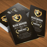 30 Black Business Card Designs to Inspire