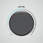 How to Illustrate a Modern Volume Dial
