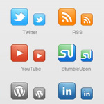 50 Social Media Bookmarking Icon Sets – 2011 Edition