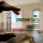 25 Creative Transparent Business cards