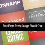 20 High Quality Free Fonts Every Design Should Own