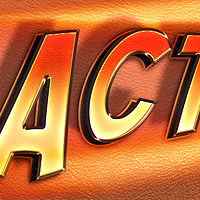 "Create an ""Action"" Text Effect in Photoshop"