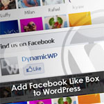 How to Add Facebook Like Box to Your WordPress Manually