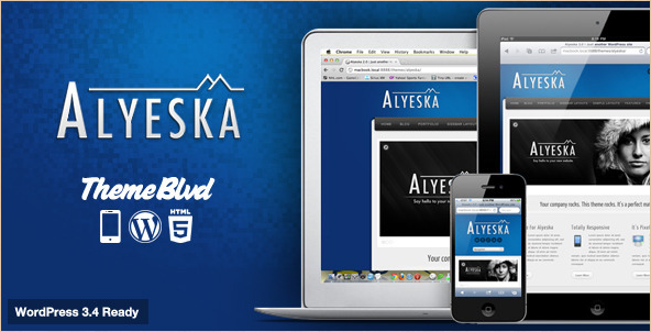 Alyeska - Responsive WordPress Theme