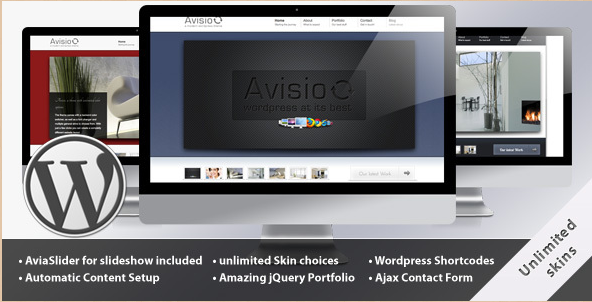 Avisio - Business and WordPress Portfolio Theme