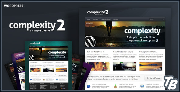 Complexity - Premium WordPress Theme