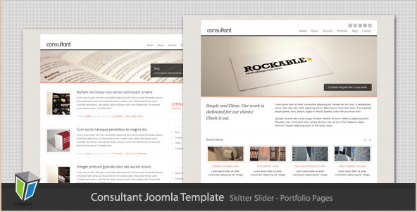 Consultant - Corporate Business Joomla Template