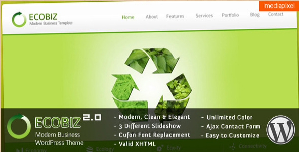 ECOBIZ - Modern WP Business Theme