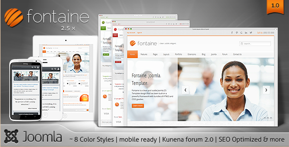 Fontaine - Corporate Joomla Template