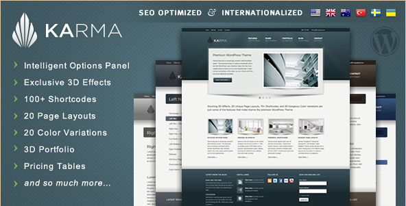 Karma - Modern WordPress Theme