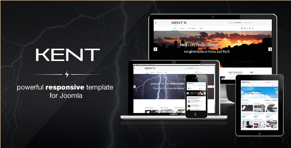 Kent - Responsive Template for Joomla!