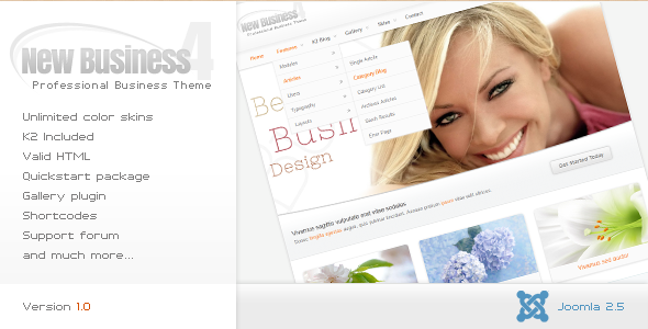New Business - Joomla Business Template