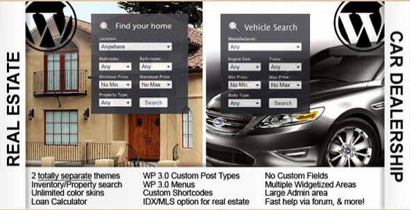 OpenHouse Real Estate and Automotive WP Theme