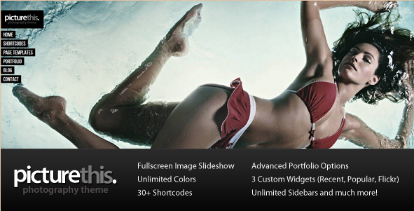 Best Selling WordPress Photography Themes