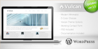 Vulcan - Minimalist Business WordPress Theme
