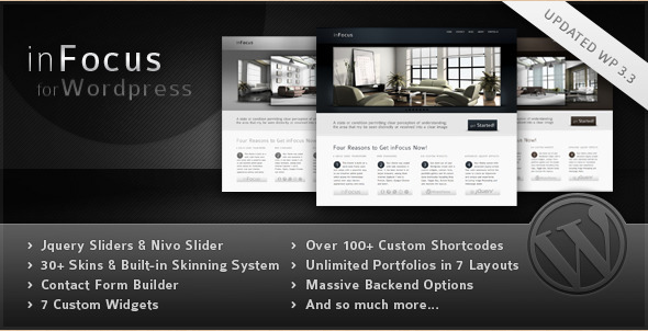 inFocus - WordPress Professional Template