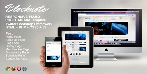 The Newest Entertainment Site Templates of 2012