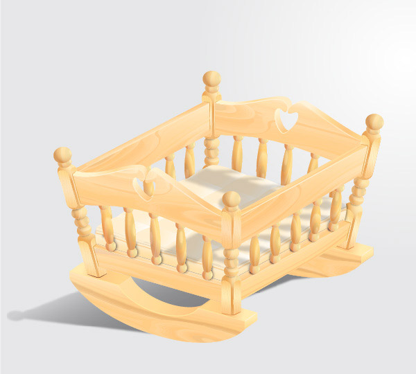 How to Create a Wooden Baby Crib in Illustrator