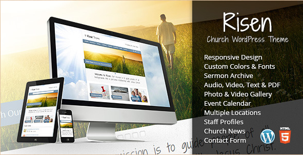 Religious Website Templates and Themes