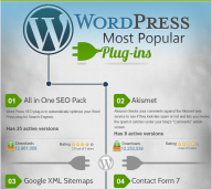 Most Popular WordPress Plugins