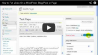 Wordpress Video Players