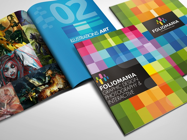 25 Amazingly Designed Brochures that Displayed a Play of Color