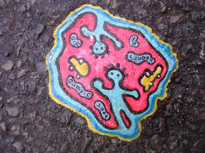 Stunning Chewing Gum Art
