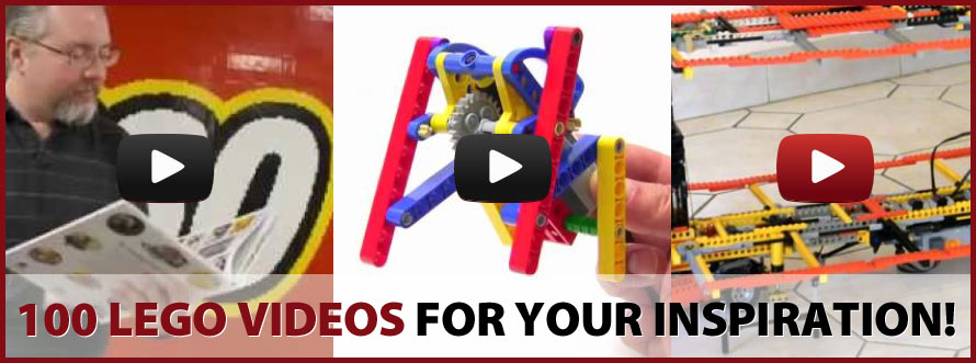 100 LEGO Ideas Videos!