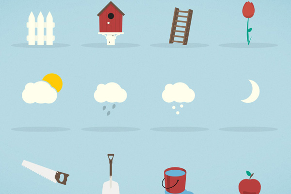 Top 20 Flat Mobile Icons For your Inspiration DesignFollow