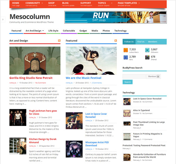 7 Awesome WordPress Themes You Didn't Know Were Free