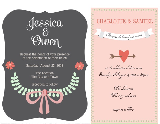 Cool New Photoshop Freebies for January 2014 – Cool Invitation Cards