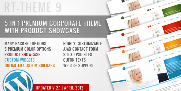 RT-Theme 9 for Business