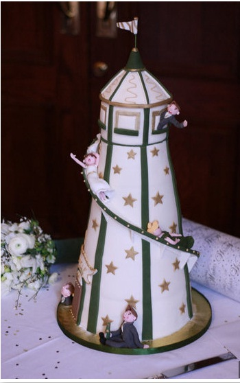 lighthouse wedding cake designs