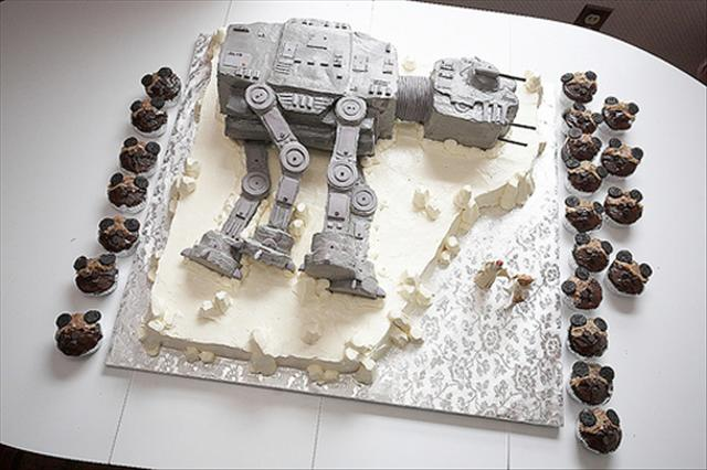 star wars wedding cake design ideas