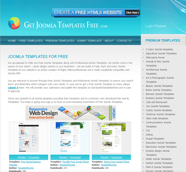 getjoomlatemplatesfree