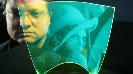 Researchers have created a bendable, transparent polymer that acts as an image sensor (Pho...