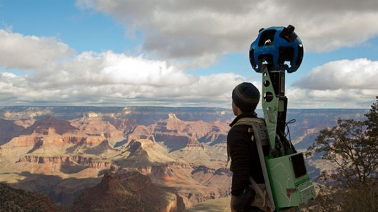Google Maps used backpack-mounted cameras to capture stunning 360-degree panoramic images ...