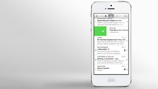 Mailbox is an innovative new app for iPhone