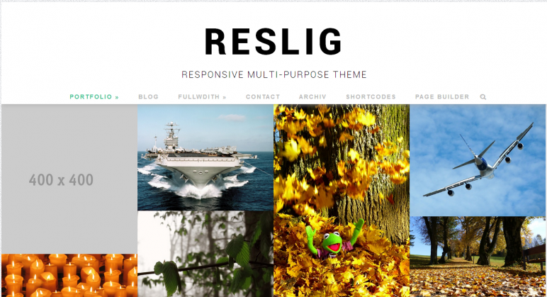 Reslig Free WordPress Theme